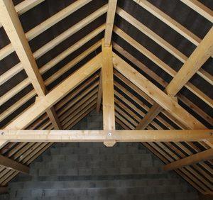 construction - détail de toiture